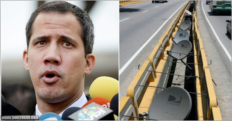 Guaidó podría intervenir para que DirecTV vuelva a operar en Venezuela