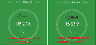 waktu yang dihasilkan uji tes baterai syma x5hw