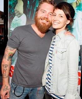 Angie Cuturic with his late boyfriend Ryan Dunn