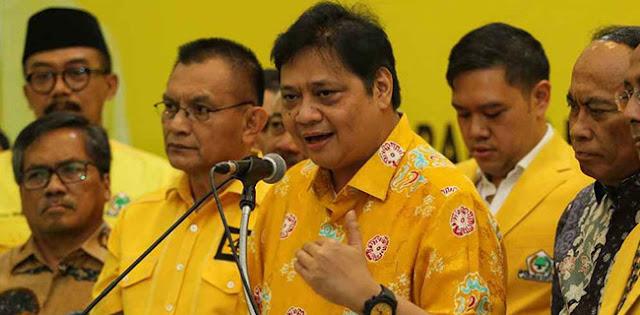 Layaknya Presiden, Airlangga Hartarto Juga Punya Hak Veto Di Partai Golkar