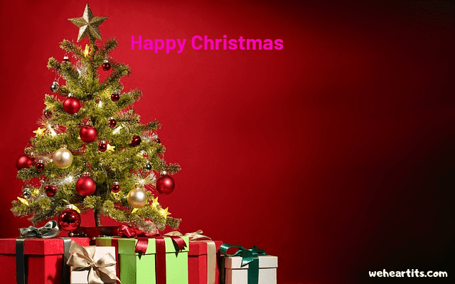 merry christmas spelling