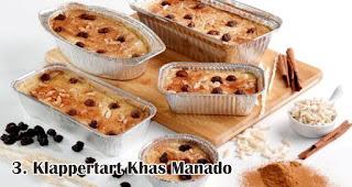 Klappertart Khas Manado merupakan salah satu makanan khas Nusantara yang wajib ada saat Natal