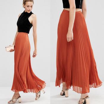moda para bajitas maxi falda