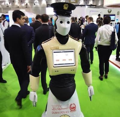 اول شرطي آلي في التاريخ سوف ينضم الى قوة حفظ النضام في دبي