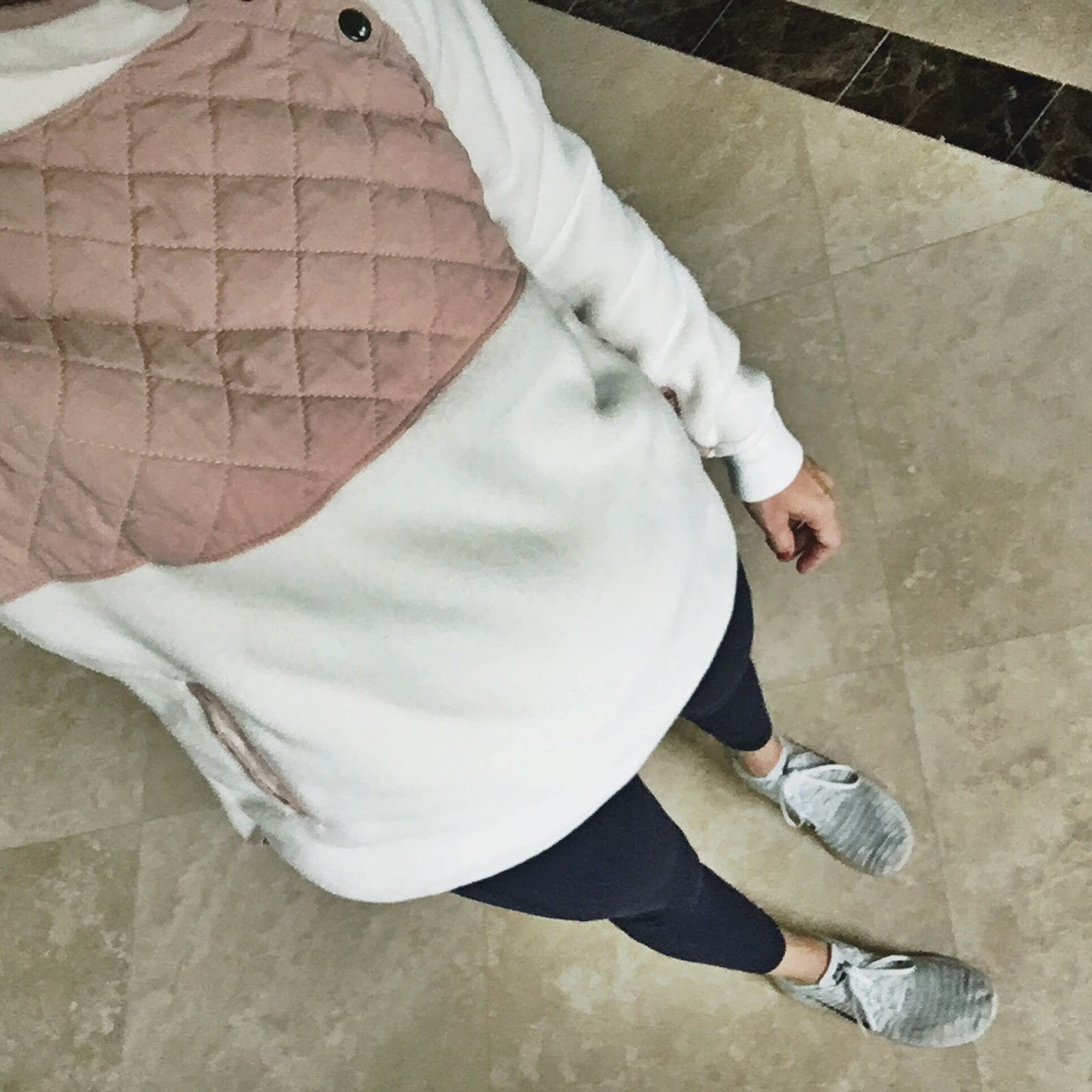 pink fleece outfit