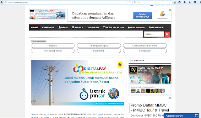 Website Resmi PPOB Digital Pay