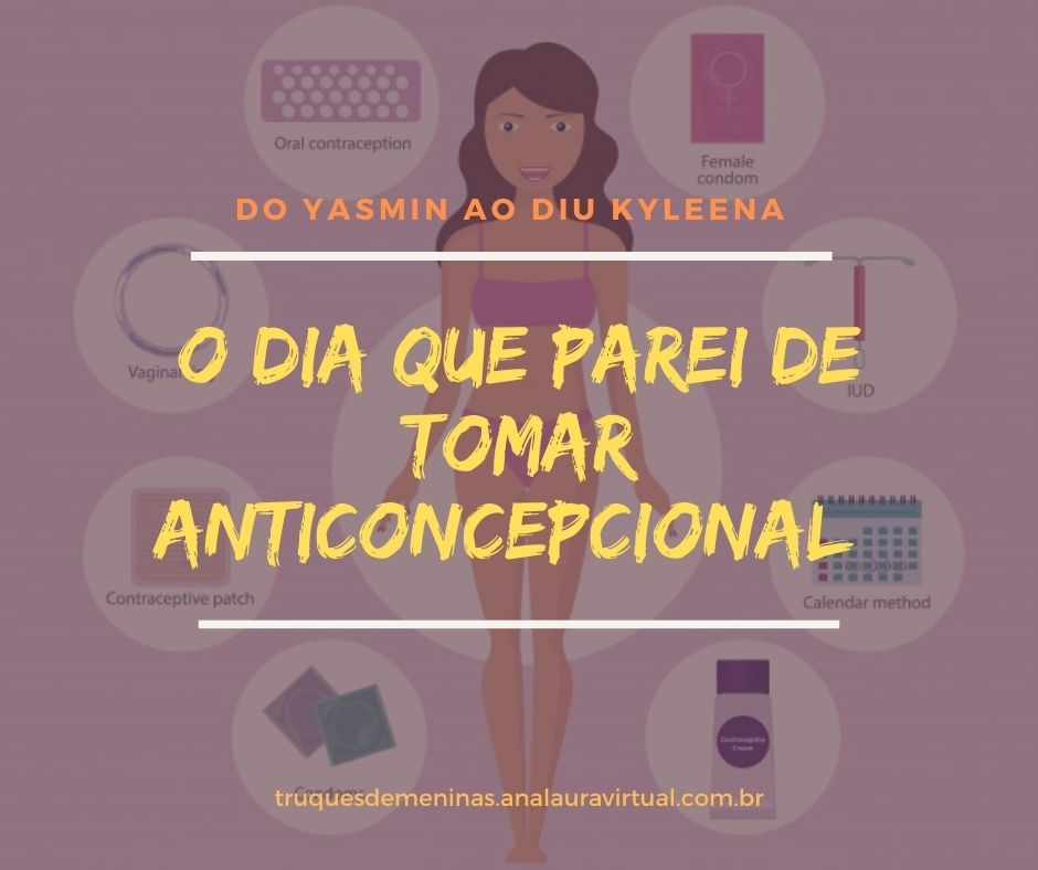 transicao do anticoncepcional Yasmin ao DIU Kylenna