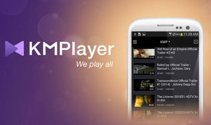 Aplikasi Pemutar Video tuk Android - KMPlayer