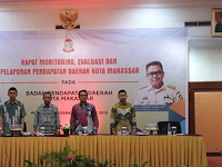 Bapenda Makassar gelar Monev Pendapatan Daerah