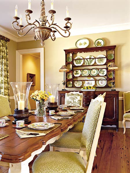 New Home Interior Design: Green Southern Living - part 3