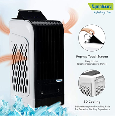 Symphony Diet 3D 30i Personal Tower Air Cooler Superior 3D Cooling With Low Power Consumption