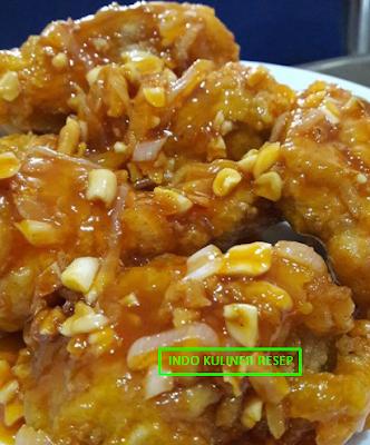 Resep Ayam Goreng Chrispy Saus Madu