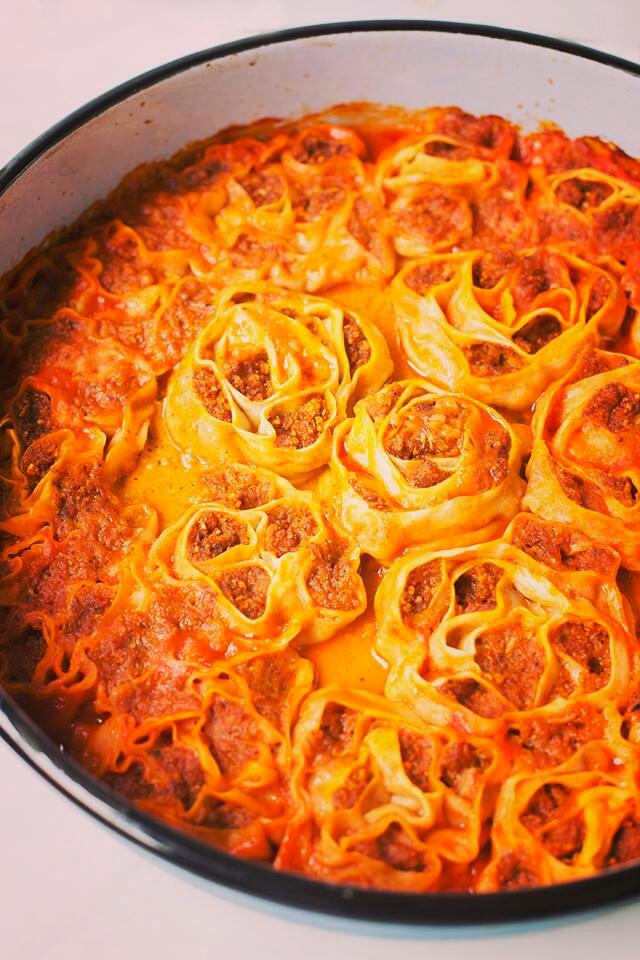 Vegan casserole Turkish style - delicious & cheap