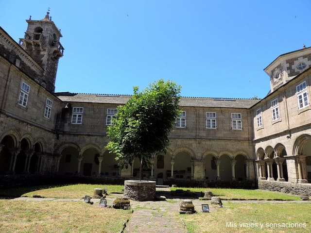 claustro, convento de san Francisco, Lugo