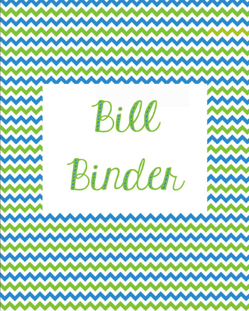 Miranda Bee Budgeting Amp Bill Binder
