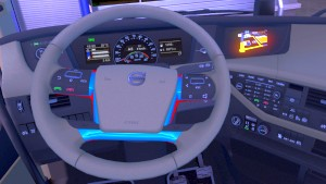 Light Spin Autocolor Steering Wheel mod for Volvo 2012
