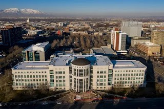 The Scott M. Matheson Courthouse in Salt Lake City is pictured on Wednesday, Feb. 19, 2020. Spenser Heaps,