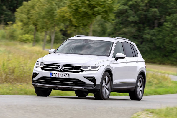VW Tiguan eHybrid plug-precificada a € 42.413,11 - Alemanha