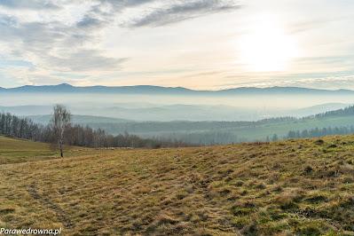 Pasmo Karkonoszy (widok z Góry Szybowcowej)