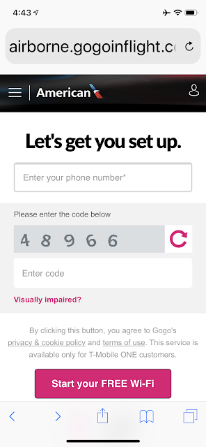 How Well Does TMobile Inflight internet and Texting Work?