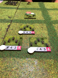 Soviet defenders hold on grimly to their objective