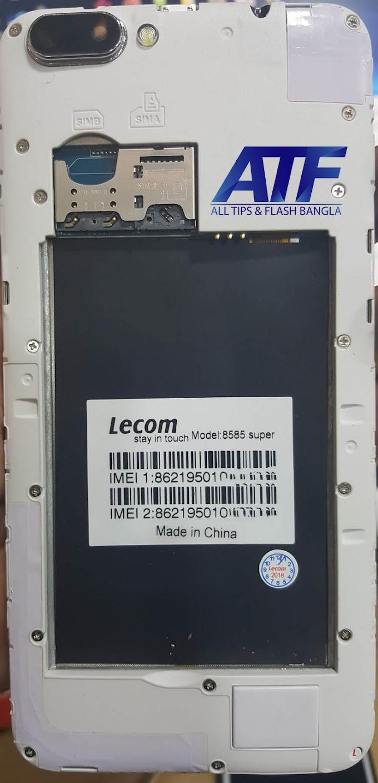 LECOM 8585 SUPER FLASH FILE FIRMWARE STOCK ROM
