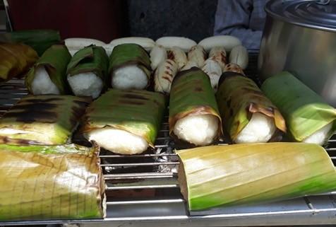 Chuối nướng nước dừa Trần Khắc Chân - Tân Định