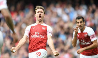 Arsenal vs West Ham United 3-1 Video Gol & Highlights