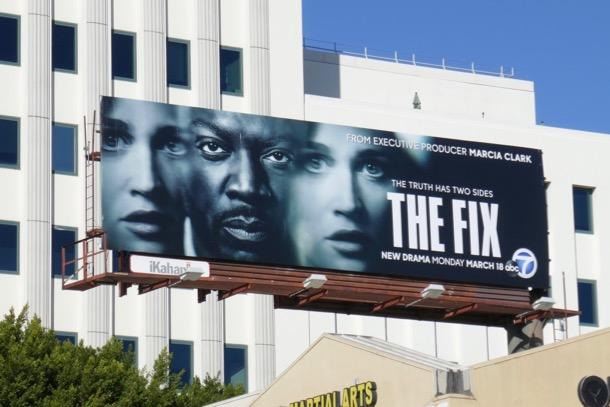 Fix series premiere billboard
