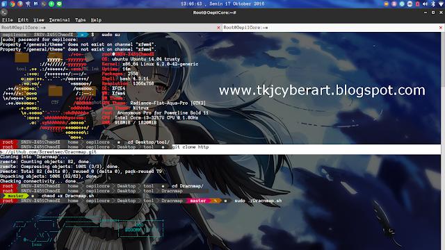 Cara Install Dracnmap On Backbox Linux