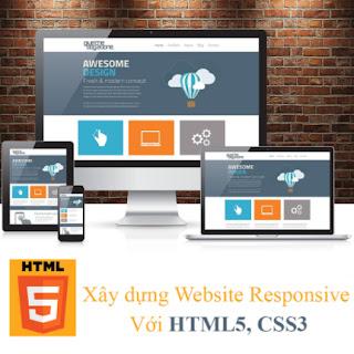 Khóa Học Xây Dựng Website Responsive Với Html5, CSS3 ebook PDF-EPUB-AWZ3-PRC-MOBI