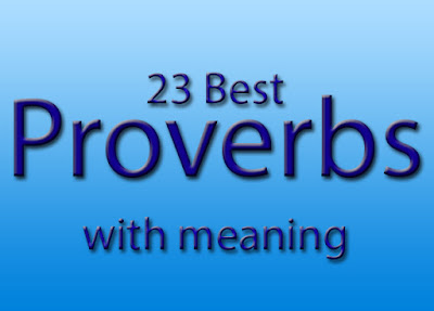 Best Proverbs