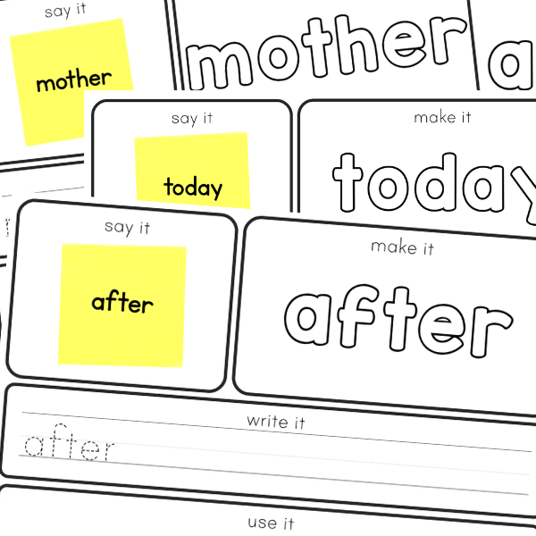 Editable Sight Word Mats | you clever monkey
