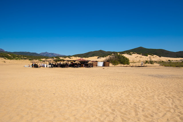 Spiaggia di Piscinas-Lido/bar