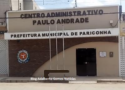 Inscrições do  concurso da Prefeitura de Pariconha encerram-se nesta terça-feira, 10