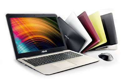 ASUS X555DG everyday notebook colorfull