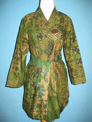 Model Baju Batik Wanita Gemuk Contoh Model Terbaru