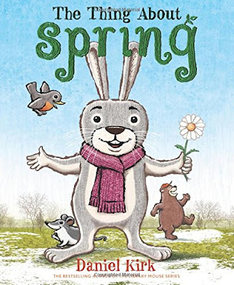 The Things Aboug Spring, part of children's book list about spring and changing seasons