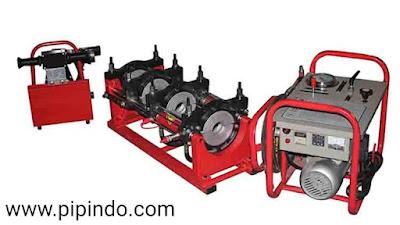 Cara Menyambung Pipa HDPE dengan Mesin Butt Fusion Welding Machine