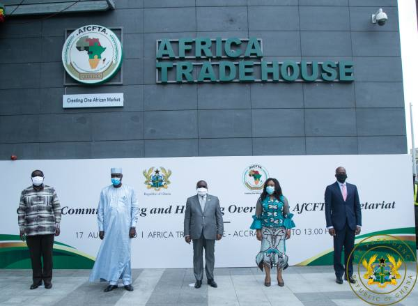 President Akufo-Addo Commissions & Hands-Over Afcfta Secretariat To AU Commission