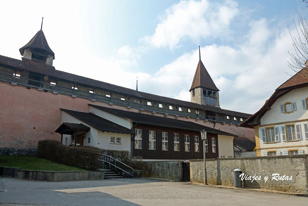 Murallas de Murten, Suiza