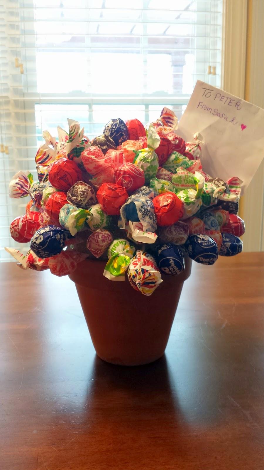 A Mom\'s Life: Lollipop Bouquet.