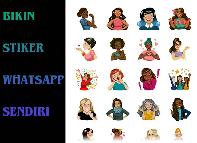 Cara Gampang Buat Stiker WhatsApp Foto Sendiri