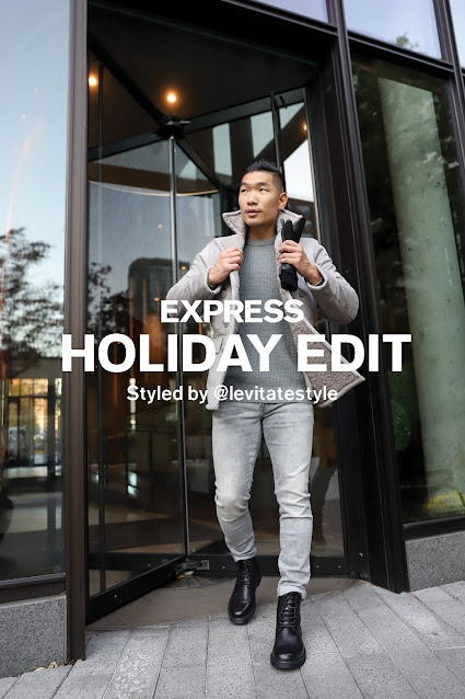 Express Holiday Edit Feature Leo Chan Levitate Style