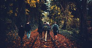 Un grup de adolescenți care fac activități în natură - foto de Anthony Intraversato - unsplash.com