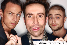 Updated(3): Daniel Radcliffe and James McAvoy on BBC Radio 1's Breakfast Show with Nick Grimshaw
