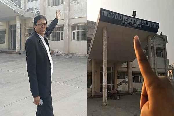 advocate-ln-parashar-vizit-sector-55-faridabad-skill-university-news
