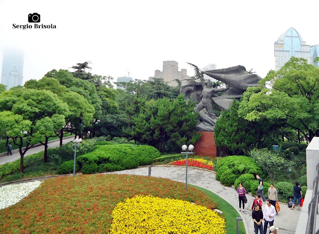 Monument of the Worker Heroes - Huangpu Park - Shanghai