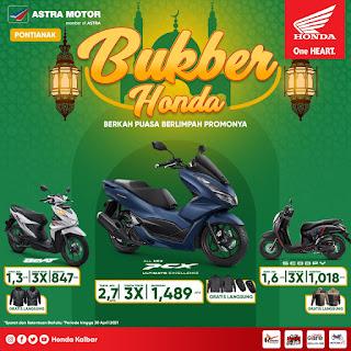 Sambut Bulan Suci Ramadhan, Honda Kalbar Beri Promo Khusus Angsuran