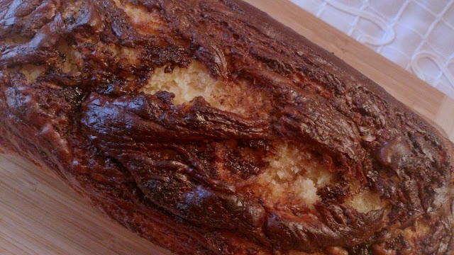 bizcocho panque cake plumcake mermelada pera chocolate crema nocilla nutella desayuno merienda postre jugoso rico esponjoso casero tradicional sencillo